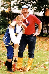 Sir Ian Botham (kb June 2007) Cricketer 1993 Sir Ian Botham (kb June 2007) Plays 'silly Mid Off-the Mate' Om Dick Whitington At Theatre Royal Bath. With Robin Asquith As 'captain'. The Pantomime Is Sponsored By Cadbury's In Aid Of Save The Child