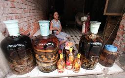 VIETNAM-SNAKE-ALCOHOL