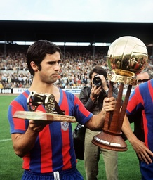 Gerd Müller is soccer player and goal scorer of the year 1969