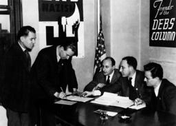 Anwerbung Internationale Brigaden - International Brigades recruitment/ 1937 -