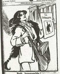 Both Irrepressible / aus: The Suffragett - Both Irrepressible / fr: The Suffragette - Both Irrepressible / In : The Suffragette