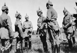 Kaiser Wilhelm II on the Eastern front, 1916