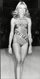 Beauty Queen Dagmar Winkler (miss Germany) Miss World Contest 1977 She Finished 2nd Runner Up