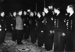 Günther Prien, Empfang in Berlin 1939 - Günther Prien, Reception in Berlin 1938 -