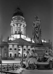 Schiller-Denkmal Berlin / Foto 2001 - Schiller Memorial Berlin / Photo 2001 -