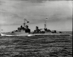 The Seventh Hms Newcastle Was A Town-class Light Cruiser Of The Royal Navy. She Belonged To The Southampton Subclass. In The Second World War Following Extensive Battle Damage Sustained In The Mediterranean She Spent Some Time Being Repaired In New Y