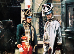 THE DUELLISTS, from left: Harvey Keitel, Keith Carradine, 1977