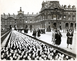 Tuileries Gardens Paris France In 1931