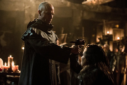 THE 100, (from left): Neil Sandilands, Rhiannon Fish, 'Stealing Fire', (Season 3, ep. 309, aired