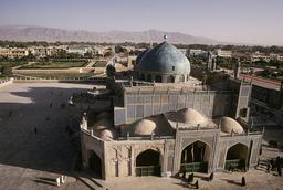 Mazar-i-Sharif, Blaue Moschee, Außenansicht / - -