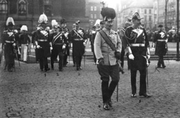 Wilhelm II with Archduke Franz Ferdinand in Berlin, 1911