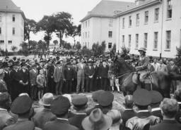 Entry of the Doeberitz Regiment in Neustrelitz, 1935