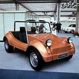 VW Beetle at the IAA 1969