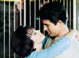 PROMISE HER ANYTHING, from left: Leslie Caron, Warren Beatty, 1965