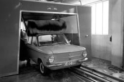A fast car wash in Essen