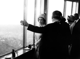 Queen Elizabeth II on a state visit in Baden-Wurttemberg, Germany, in 1965