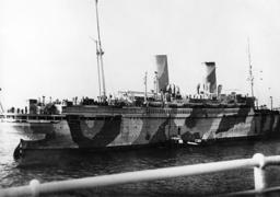 Passenger ship for the resettlement of Baltic Germans, 1939