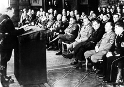Ceremony at the meeting of German and Italian jurists