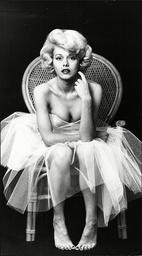 Misty Rowe Actress As Marilyn Monroe 1976.