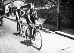 Sylvere Maes during the Tour de France, 1937