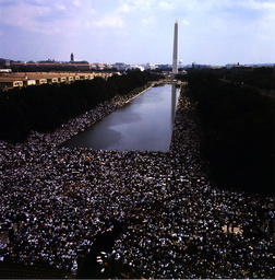 Marsch auf Washington 1963 - March on Washington 1963 / Photo - Marche sur Washington, 28 août 1963 (200 000 américains mani
