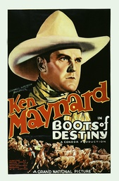 Boots Of Destiny - 1937