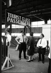 British Tourists Meet Security During Trip To New York 1963.
