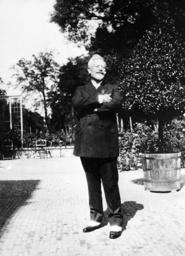Emperor Wilhelm II in exile in Netherlands, 1931