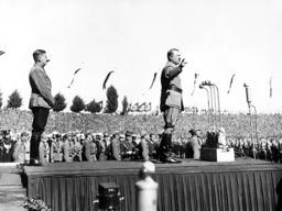 Hitler, von Schirach, Party Congress, 1936