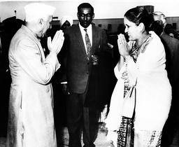 Prime Minister of India Jawaharlal Nehru 1889 - 1964