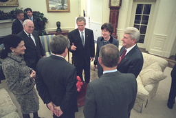 Bush and Cheney Meet with US Senators