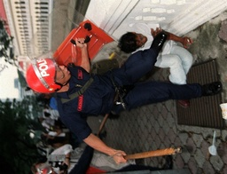 MALAYSIAN RIOT POLICE KICK A PROTESTER IN KUALA LUMPUR