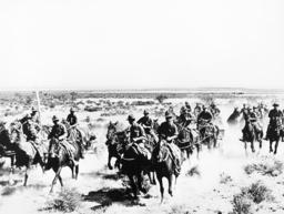 American soldiers on maneuvers, 1939