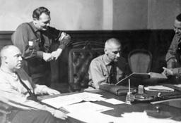 Gregor Strasser, Hermann Goering, Wilhelm Frick, Stoehr, 1930