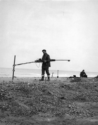 Royal Engineers Bomb Disposlal Unit Clear Mines In Trimingham In 1854.