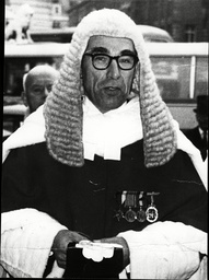 Mr Justice Sir Edward Walter Eveleigh.
