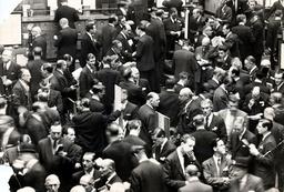 London Stock Exchange (old Building). Scene On The Floor Of The Stock Exchange