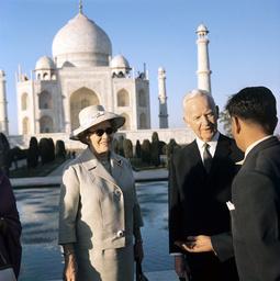 German President Luebke in India