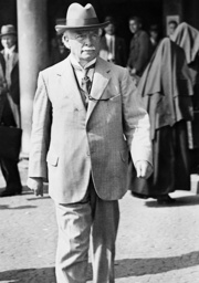 David Lloyd George in Munich, 1936