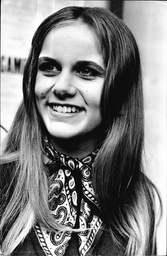Actress Caroline Delavigne In 1968.