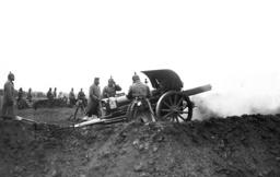 German artillery fires, 1914