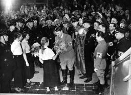 Hitler visits Koenigsberg
