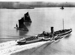 Sailing Regatta on the Thames, 1935