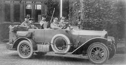 Great Duke Friedrich August von Oldenburg, 1914