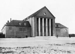 Festival Hall in the garden city of Dresden-Hellerau, 1912