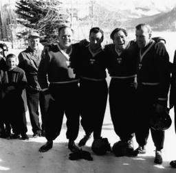 Winterolympiade 1968, Grenoble/Viererbob - Winter Olympics 1968, Grenoble/Bobsleigh -