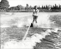 Singer And Actress Patti Boulaye Water Skiing Patti Boulaye (born Patricia Ngozi Ebigwe 3 May 1954) Is A British-nigerian Singer Actress And Artist Who Was Among The Leading Black British Entertainers In The Seventies And Eighties. In Her Native Nige