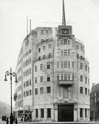 BBC Broadcasting House, London, Britain - 18 Feb 1932