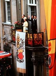 Queen Elizabeth II in Schwaebisch Hall