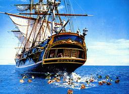 1962 - Mutiny on the Bounty - Movie Set